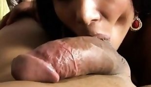 Teen tranny penetrated & creamed