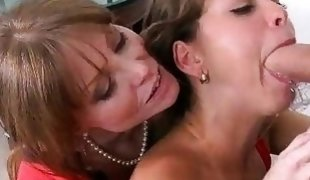 Lucky stud fucked her GF and her stepmom