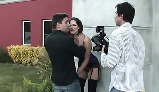 Manuel Ferrara loves fabulously hot Bobbi StarrS ass