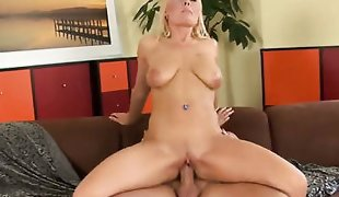Anastasia satisfies her sexual needs