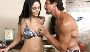 Sexy Ava Addams was invited by Tommy Gunn