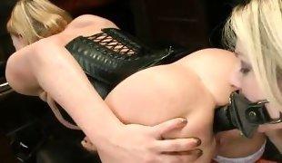 kinky beautiful milf enjoying anal penetration